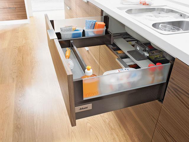 Выдвижные системы для кухни - 70 фото лучших идей по дизайну