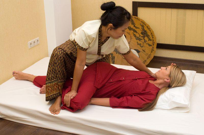 Тайский массаж как сделать самому