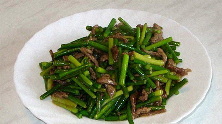 Стрелки чеснока по китайски с фото рецепт