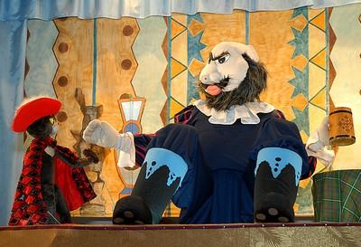 Кукольный театр кот в сапогах сценарий