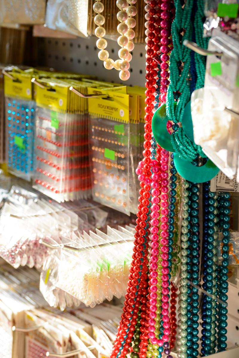 Гипермаркеты хобби и рукоделия