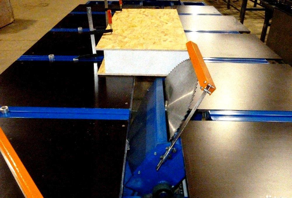 Изготовление оборудования для изготовления сип панели своими руками