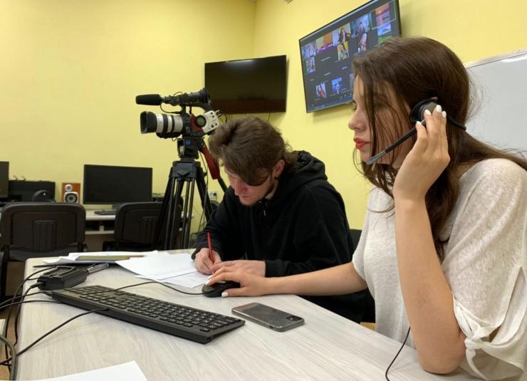 Высшая школа телевидения ВГУЭС провела вступительные испытания для абитуриентов