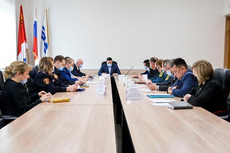 В администрации Находки прошло заседание антитеррористической комиссии