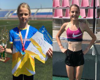 Золотые и серебряные медали привезли в Находку Полина Иванова и Радослава Борисова со Всероссийских соревнований по легкой атлетике.