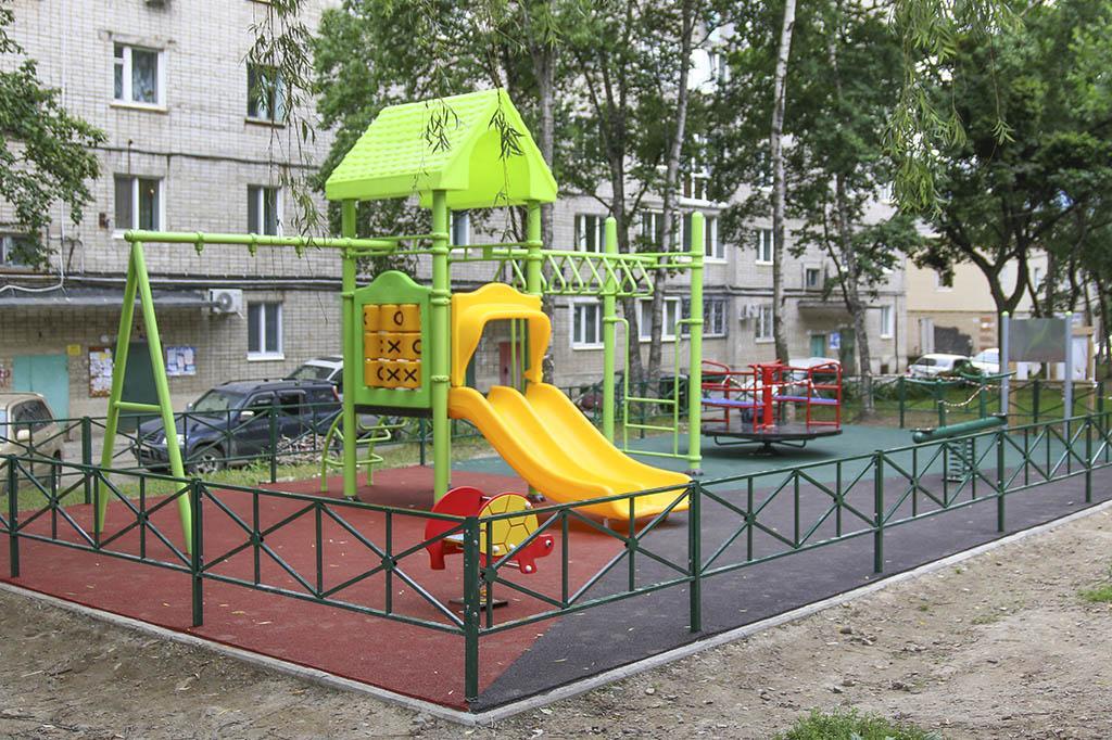 В Находке стартовал прием заявок на благоустройство дворов в 2021 году