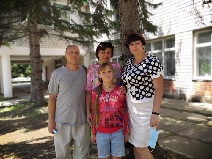 В волонтеры приходят семьями