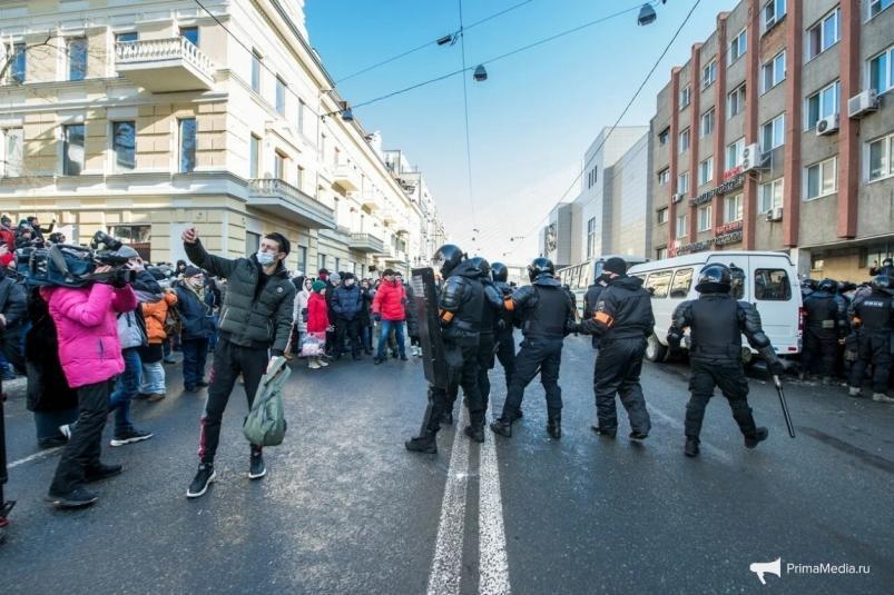 Третье уголовное дело возбуждено в Приморье после несанкционированного митинга