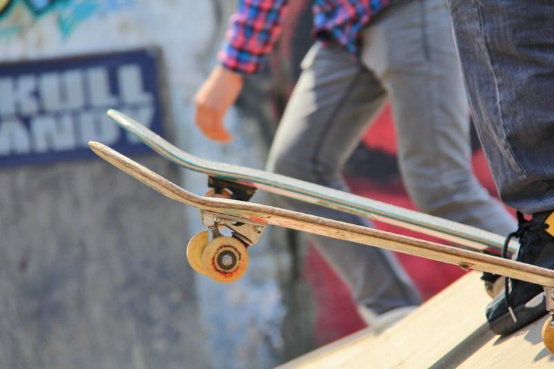 Артёмовский скейт-парк стал тренировочной площадкой для спортсменов-скейтбордистов