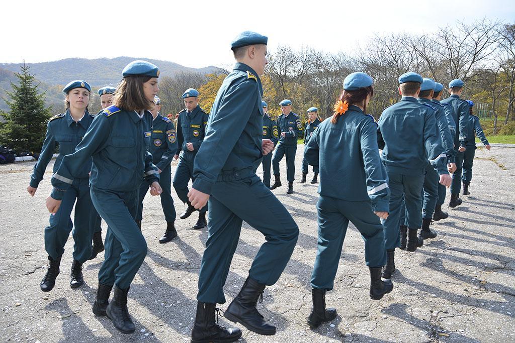 Юные патриоты Находки состязались в военном деле