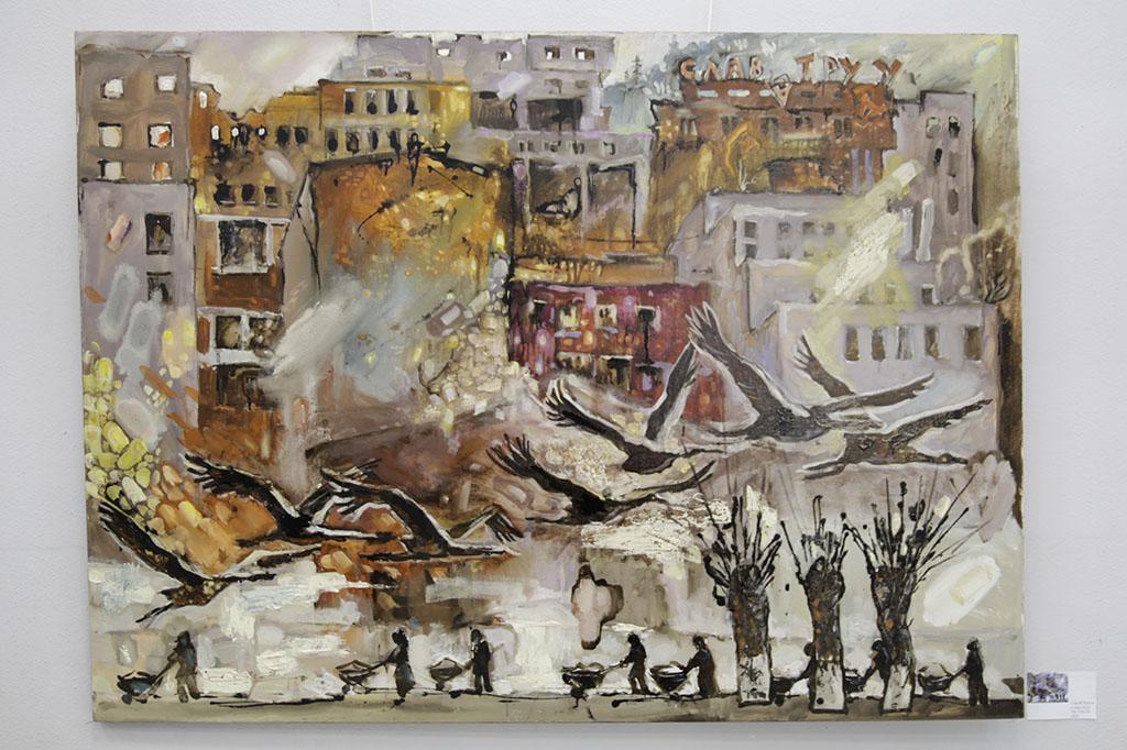 В Находке откроется выставка картин художника Сергея Чурсина