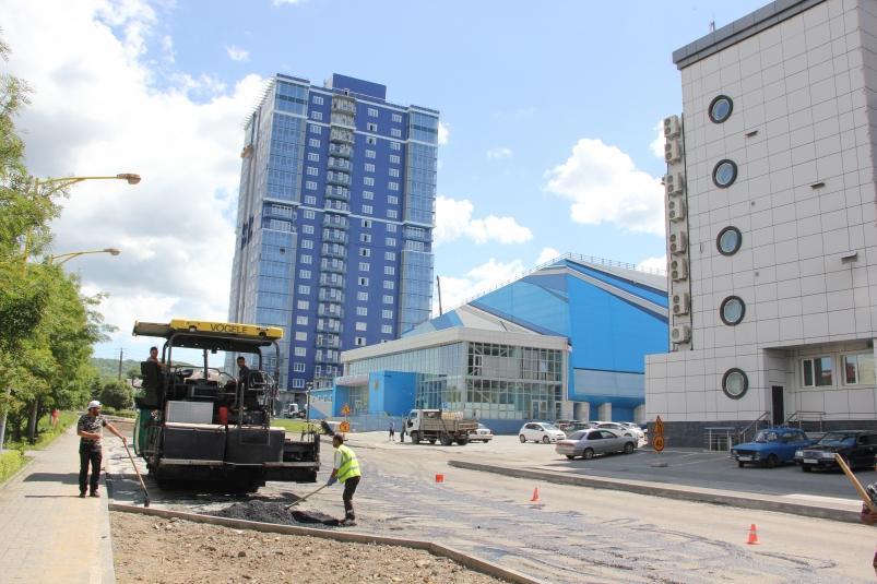 Площадь отремонтированных дорог вырастет в Артёме