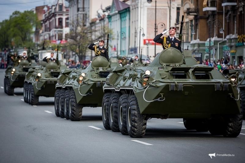 Во Владивостоке пройдет девять репетиций парада Победы: опубликованы даты и ограничения