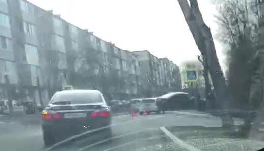 ДТП в районе ул. Пограничной