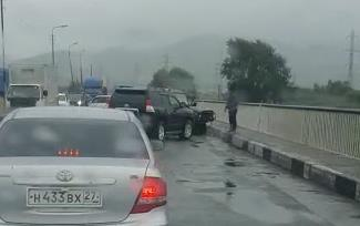 ДТП на мосту во Врангеле