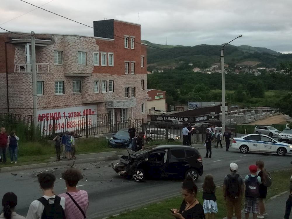ДТП на ул. Мичурина