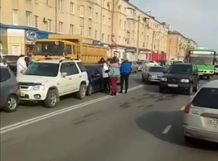 ДТП в районе ост.