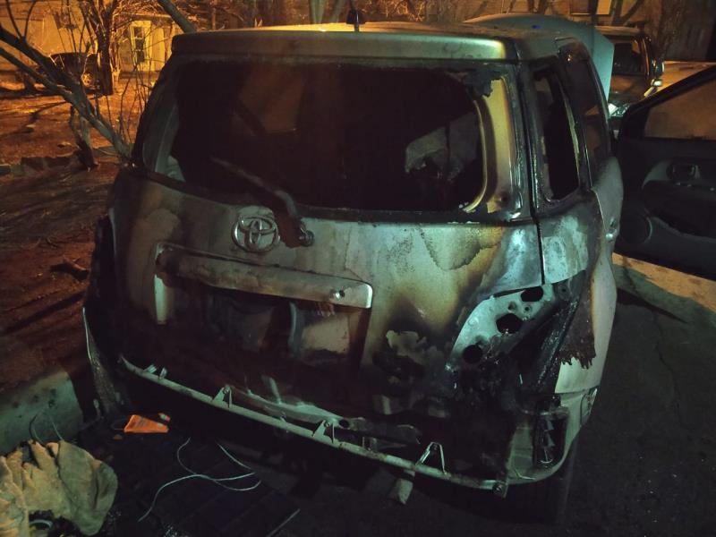 Сотрудники уголовного розыска оперативно задержали жителя Находки, подозреваемого в поджоге автомашины