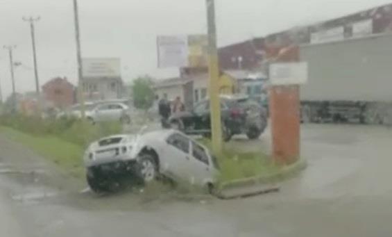ДТП на объездной в районе КПД