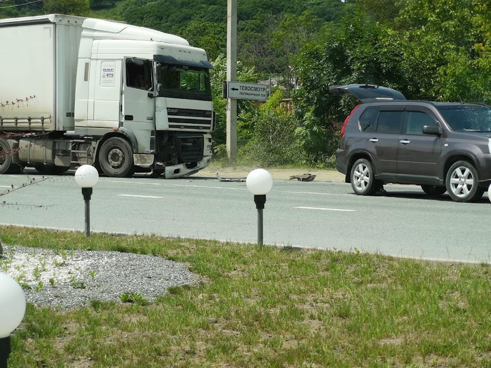 ДТП на перекрестке Золотари