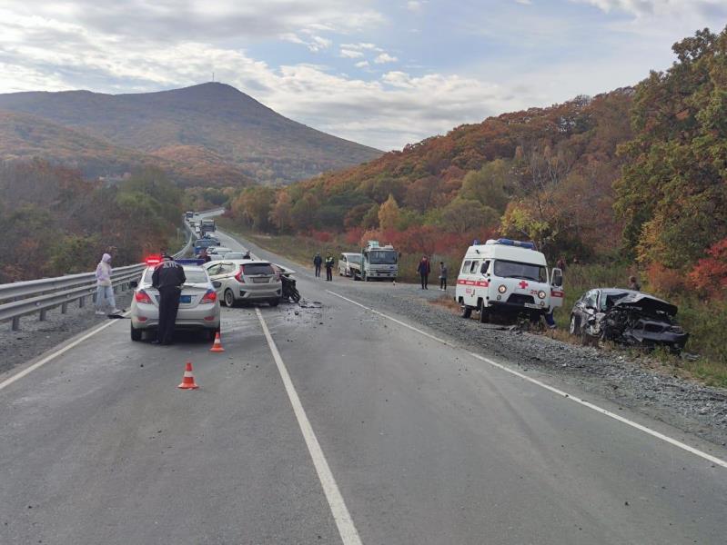 Полиция Находки ищет очевидцев автоаварии со смертельным исходом